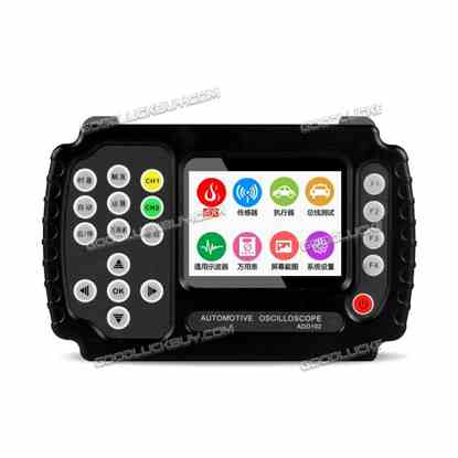 Portable JINHAN ADO102 Automotive Handheld Digital Storage Oscilloscope Digital Multimete