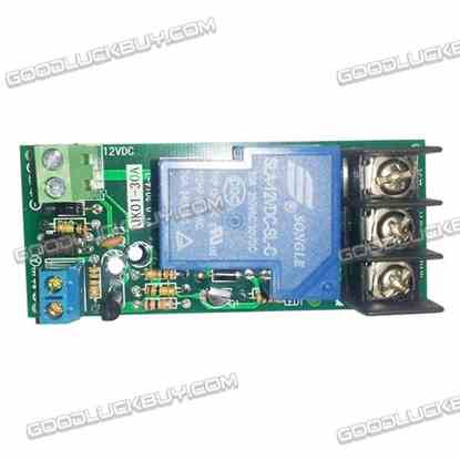 12V 0-60Mins Opto-isolated Multifunction Time Delay Relay Module 30A