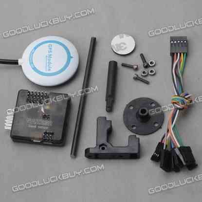 Acro Afro Naze32 Rev5 NAZER 32 10DOF Flight Controller with Ublox-6M GPS for FPV