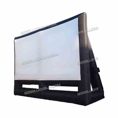 8*6m Large Inflatable Movie Screen Projection Giant 26ft X 20ft 16:9 Square