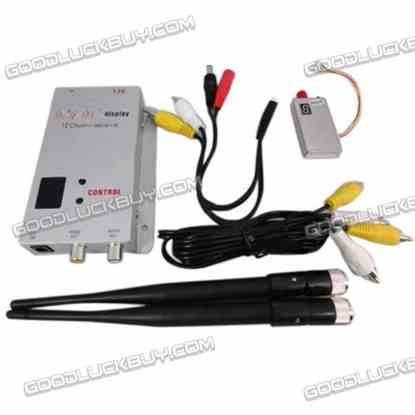 1.2G 800MW 8 Channel Wireless Audio/Video Transmitter and Receiver