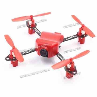 LANTIAN LT105 Pro Mini FPV Racing Drone 3.7V BNF Version Compatible w/ DSM2 Receiver