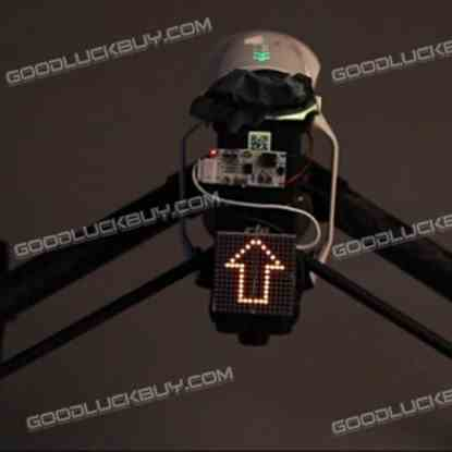 Decorative Night Light Taillight Upwards Arrow Pattern for DJI Inspire 1 Quadcopter 1 Pack