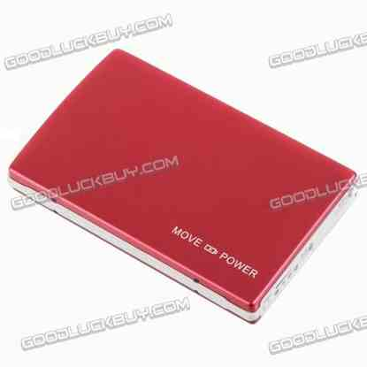 10500mAh Power Bank Backup Battery for Mobile Phone-Red