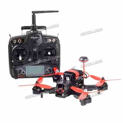 Walkera Furious 215 RC Racing Drone w/ DEVO 7 600TVL Camera F3 Flight Control RTF