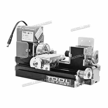 New Motorized Mini Metal Working Lathe Machine DIY Tool
