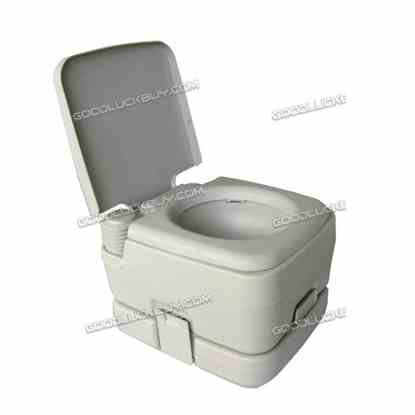 10L Portable Toilet Outdoor Camping Potty W/ Carry Bag Caravan Camp Boating