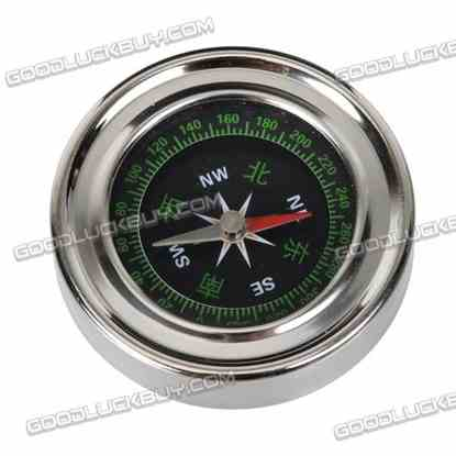 6cm Diameter Pocket Compass for Military Camping Hiking