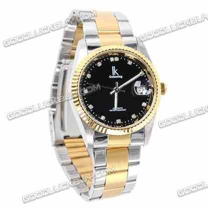 IK Colouring Automatic Mechanical Men Wrist Watch Stainless Steel 98123