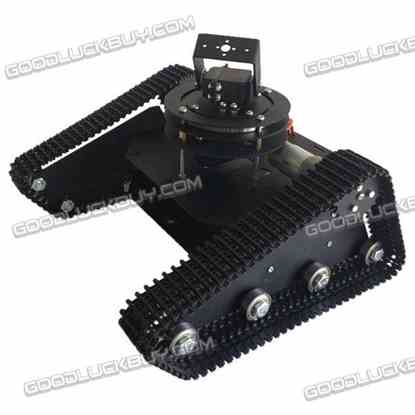 Robo-Soul TK-210 Creeper Truck Crawler RC Robot Base Kit w/2DOF Camera Mount