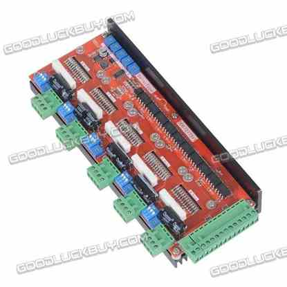 5 Axis 2 Phase Stepper Motor Driver 4A 128 Subdivision LV8727 DD8727T5V1