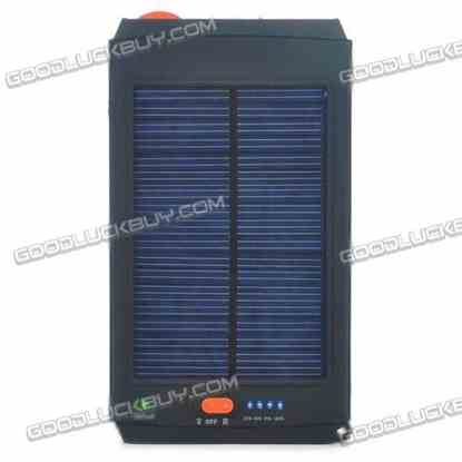 Solar AC Powered 11200mAh 14.8V Emergency Battery Charger for Laptop with 8 Adapters