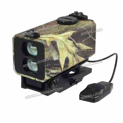 Compact Laser Range Finder Riflescope Telescope Sight Distance OLED For Hunting Mini