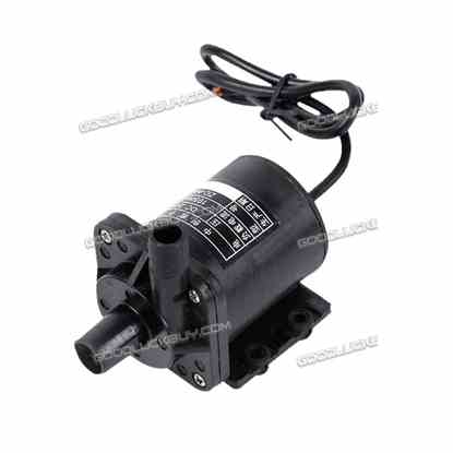 24V DC Submersible Water Fountain Pump 145GPH 10' Lift 24v Battery Or Solar ZC-A40