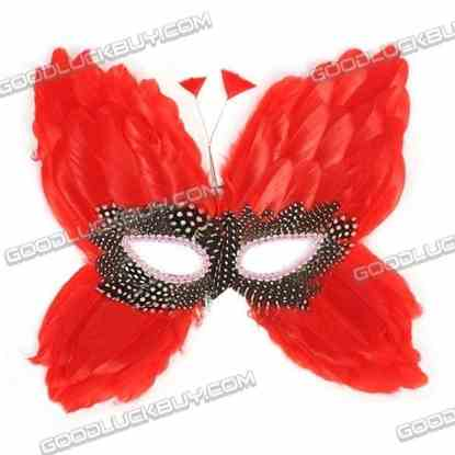 MARDI GRAS Ball & Party Costume Masquerade Feather Mask for Kids