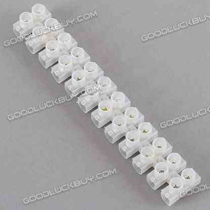 12 Digits 20A Antiflaming Connection Column X32012 (50-pcs)