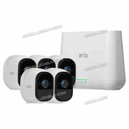 NETGEAR VMS3230 Arlo Wire-Free HD Camera Security System with 5 HD Cameras