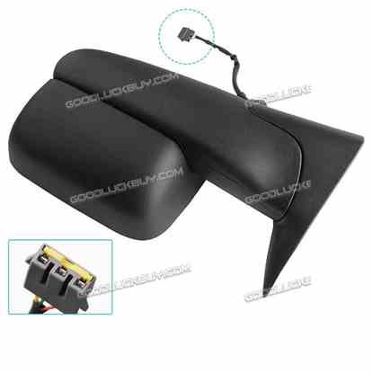 2pcs Tow Side Mirrors for 94-97 Dodge RAM 1500 2500 3500 Power Left+Right 1994-1997