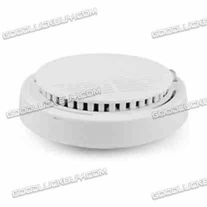 12V DC Wireless Smoke Detector White for Home Security