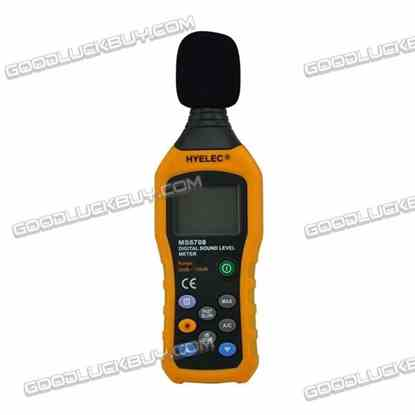 HYELEC MS6708 LCD Digital Sound Noise Level Meter 30dB to 130dB Tester
