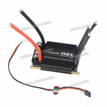 150A Brushless ESC Electronic Speed Controller with 5.5V/5A BEC for RC Boat
