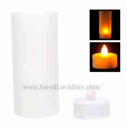 High Cup LED Candle Lamp with Blow-Off Sensor