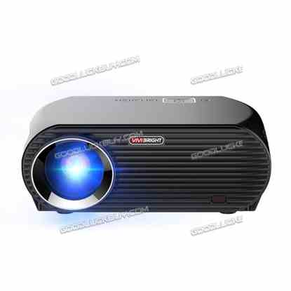 """5.8"""" GP100UP HD Projector Android 6.0 LCD Quad-Core 1GB RAM 3200LM"""