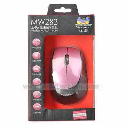 2.4G USB Wireless Optical Mouse Mice for PC Laptop Notebook 10M