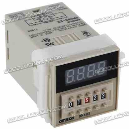0.01s-99h99min DH48S-2Z AC 220V 4 Digits Preset Time Relay