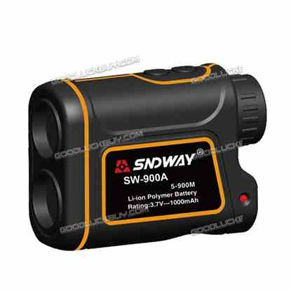 SW-900A Handheld Laser Scope 900M Range Finder Meter Measuring 8x For Outdoor Li-po Battery