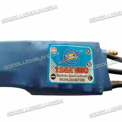 125A ESC Electronic Speed Controller with 5V 5A BEC for RC Boat Brushless Motors