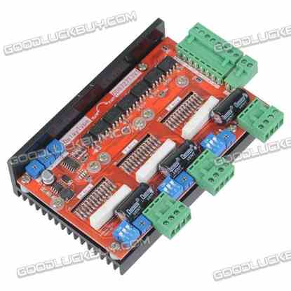 3 Axis 2 Phase Stepper Motor Driver 4A 128 Subdivision LV8727 DD8727T3V1