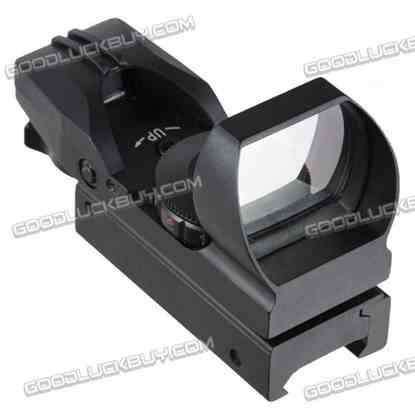 LT-HDR38 0-5 Tactical Telescopic Illuminated Red and Green Dot Gun Sight Wide Guage