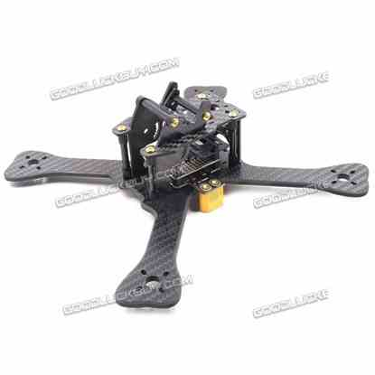 GEPRC GEP-TX4 Chimp 180mm Carbon Fiber Racing RC Drone Quadcopter Frame w/ XT60 5V/12V BEC PDB