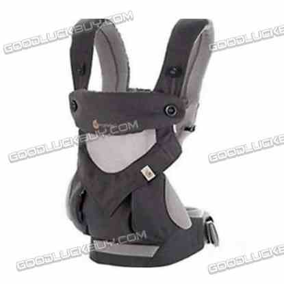 360 Four Position Breathable Baby Infant Carrier New with Box Gray