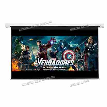 """120"""" 16:9 Motorized Electric Auto Projector Projection Screen Remote Control"""