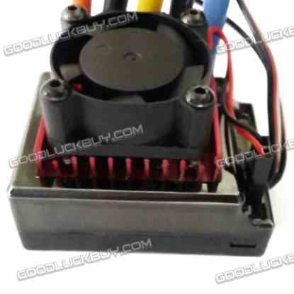 120A Dual-way Brushless Electric Speed Control Regulator ESC HY Programe for RC Car