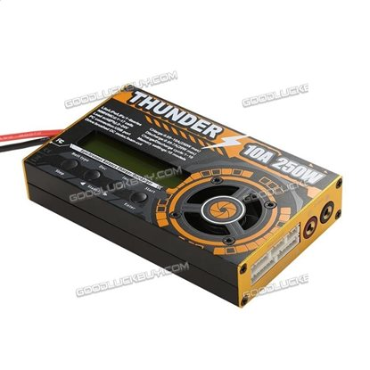 Thunder 250W 10A 1-6S Balance Multi Chemistry Battery Charger for RC Drone