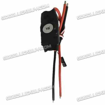 12V 30A Brushed ESC Electronic Speed Controller 2-3S Lipo for FPV Multicopter