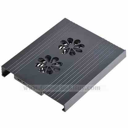 4 USB Ports 2 Fans Cooler Cooling Pad for Laptop Notebook