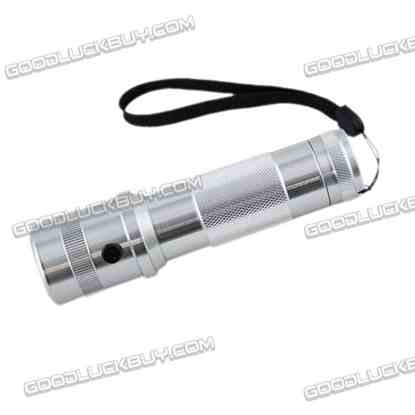 3W LED RGB 10 Colour Changing Torch Flashlight for Outdoor Sport