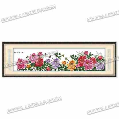 245x67cm Cross-Stitch Embroidery Kit for Living Room Decoration- Riches&Honours
