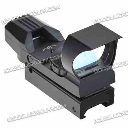 LT-HDR36 0-5 Tactical Telescopic Illuminated Red and Green Dot Gun Sight Wide Guage