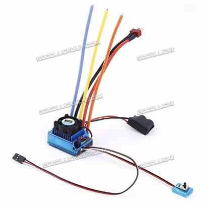 120A Brushless ESC Speed Contoller 1-3s for 1/10 RC Models