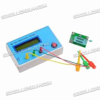 MK-168 TR\LCR\ESR Transistor LCR ESR Tester Semiconductor Device Analyzer