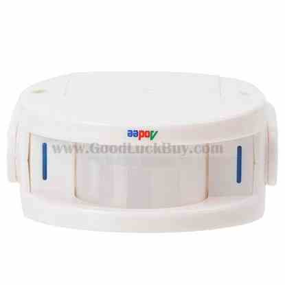 PIR Sensor Welcoming Guest Alarm Wireless Doorbell Chime Antitheft P-008