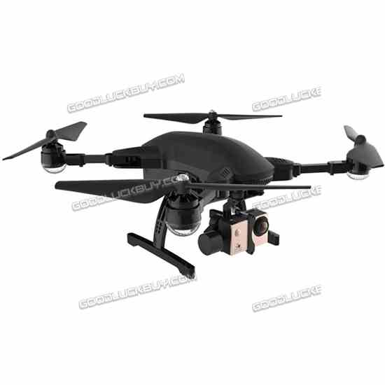 Simtoo Dragonfly RC Drone FPV Quadcopter 4K HD Camera FollowMe UAV 3-AXIS Gimbal Black