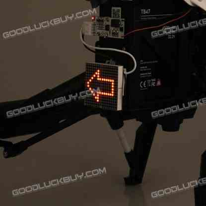 Decorative Night Light Taillight Left Arrow Pattern for DJI Inspire 1 Quadcopter 1 Pack