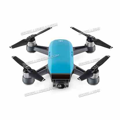 DJI Spark Alpine Quadcopter Drone 12MP 1080P Video Blue