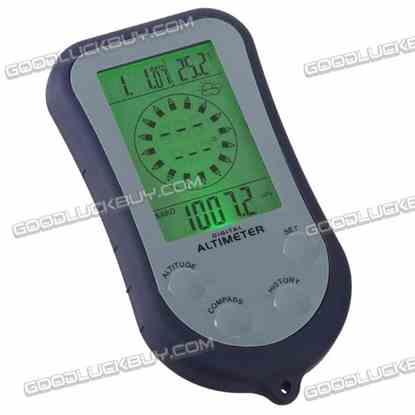 8 in 1 Digital Altimeter & Compass ZD-2068 Weather Forecast